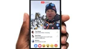 Facebook investe forte nas transmissões de vídeos ao vivo.