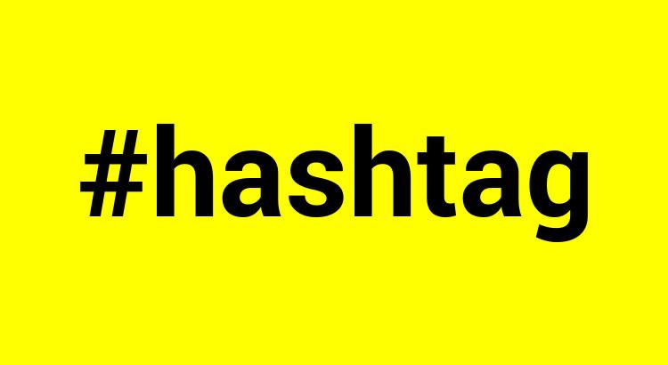 Como usar as hashtags?