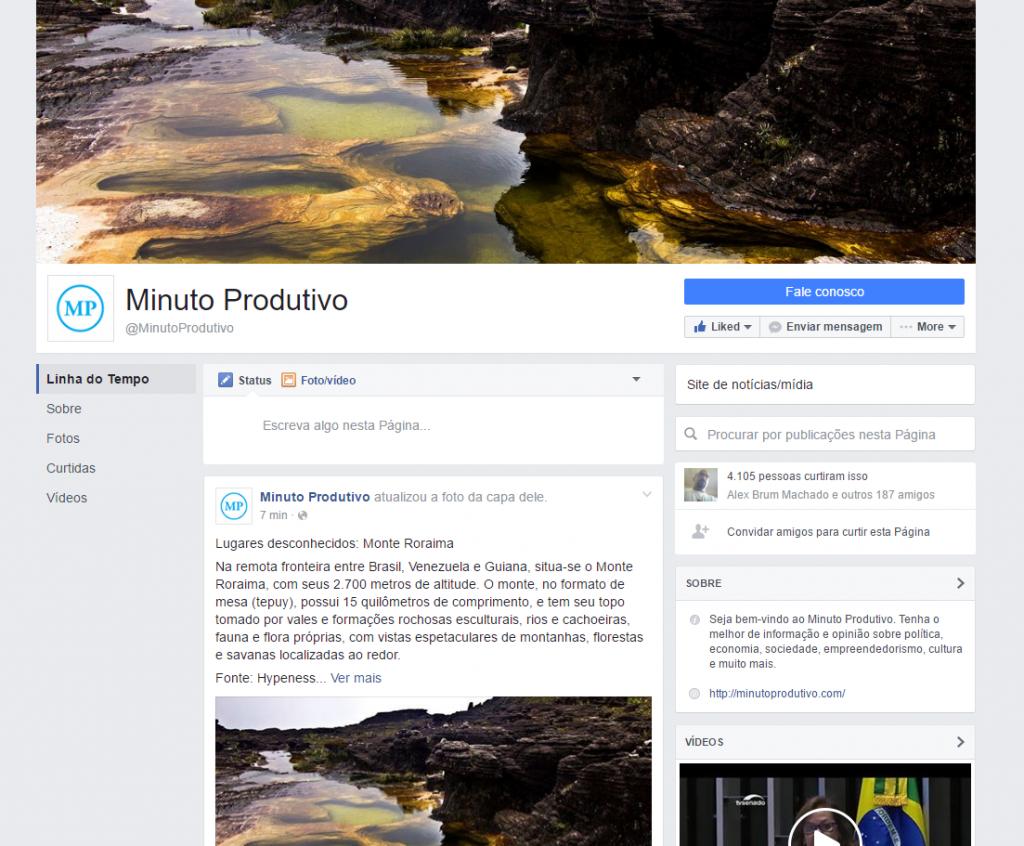 Novo design para páginas do Facebook vindo por aí?